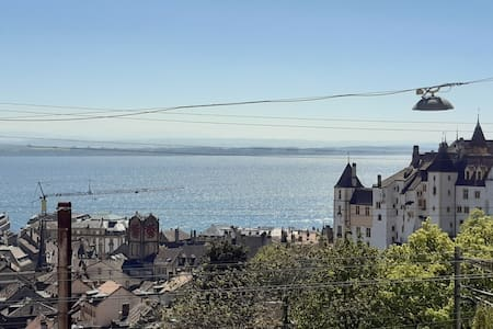 cosy appartement in Neuchatel