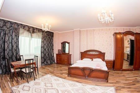 Студия на 38-м этаже, шикарный вид! - Astana - Apartemen