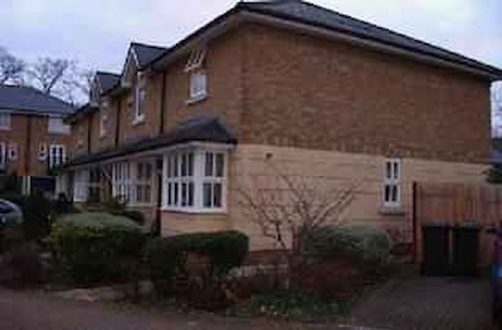 Typical English house with private sunny garden - London - House