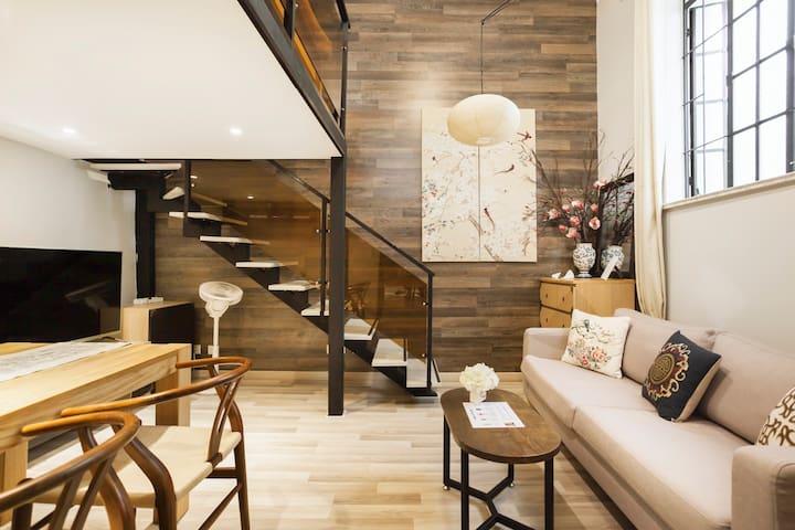 入住【太极】淮海路超美老上海石库门洋房的公寓型住宅,法租界超棒地段