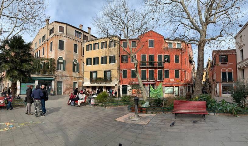 Stanza con vista a Venezia