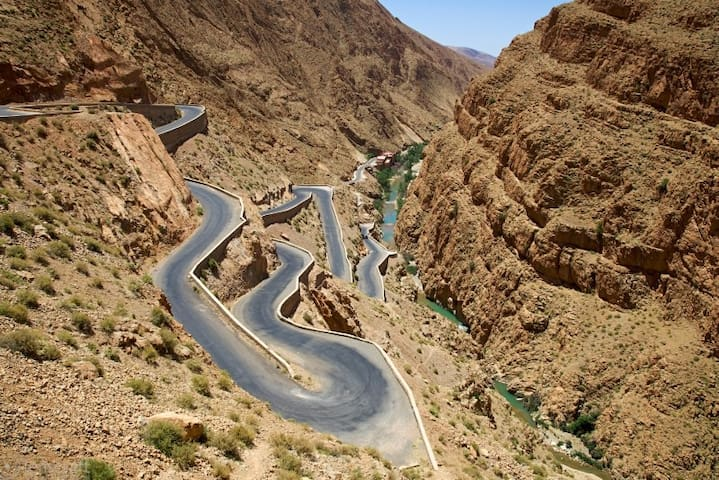 Morocco Dades Gorges trips with Guide
