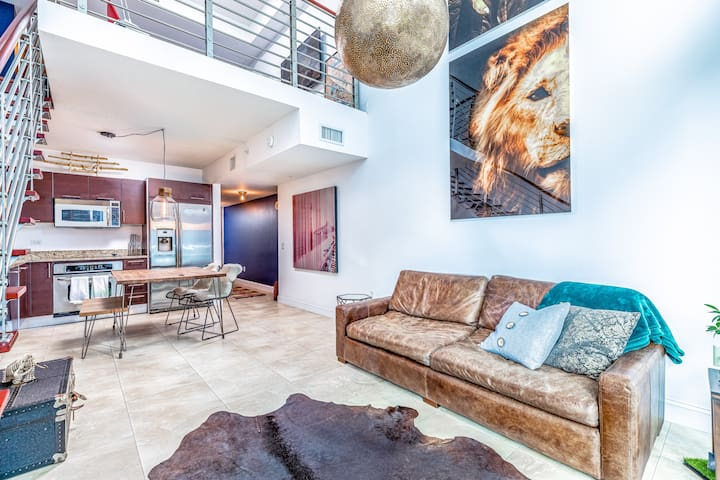 Brickell Modern Loft Apartment Centrally Located