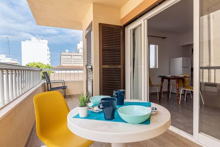 YourHouse Acapulco apartamento cerca de la playa en Can Picafort, ideal para parejas