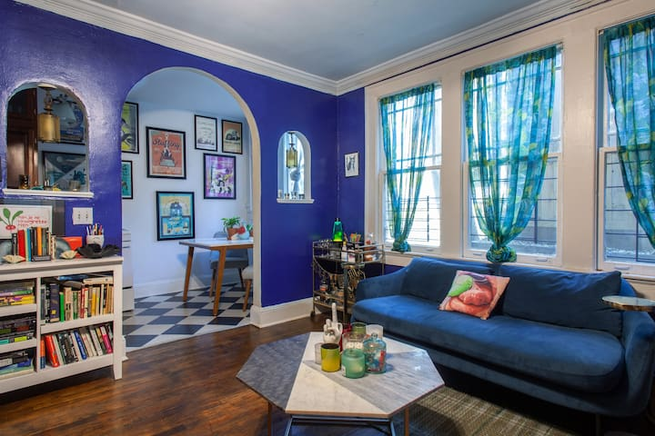 Eclectic 1-bedroom in historic Inman Park