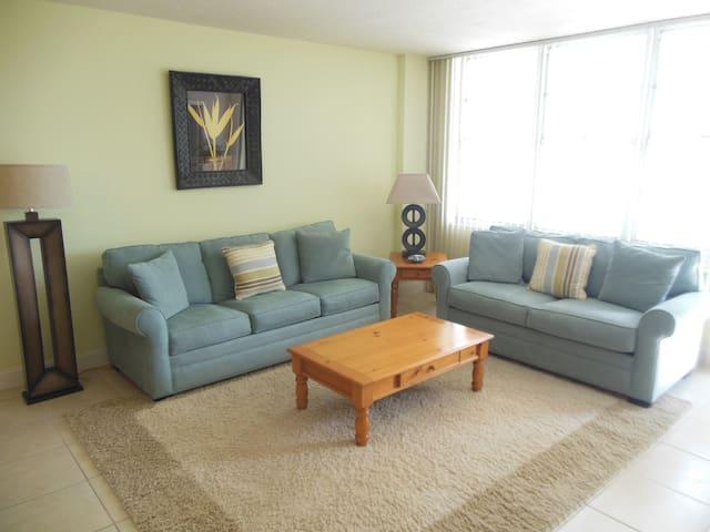 AWESOME BEACH FRONT CONDO 8TH FLOOR 820 - Hollywood - Apto. en complejo residencial