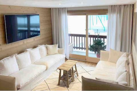 SKI IN SKI OUT New renovated 70m2 flat @Rond Point