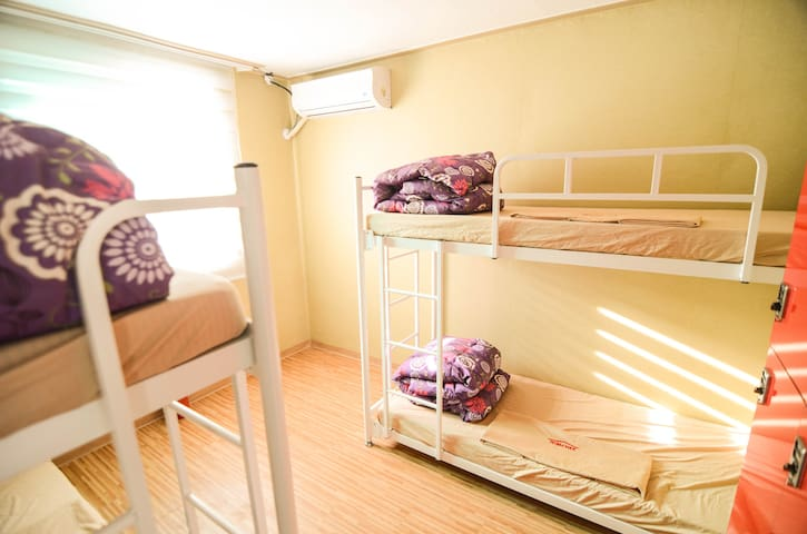 [1min to Cheonggu stn]4-Bed Dorm Bed(Mixed)