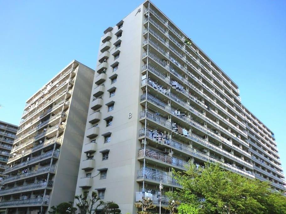 公寓楼的外观