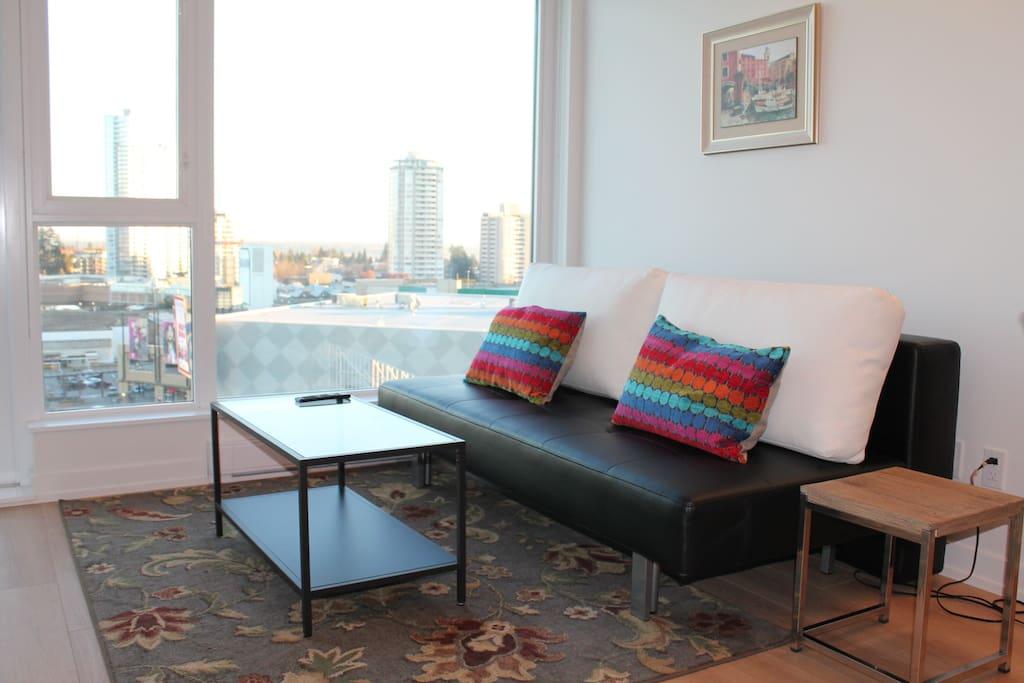 living room/sofa & coffee table