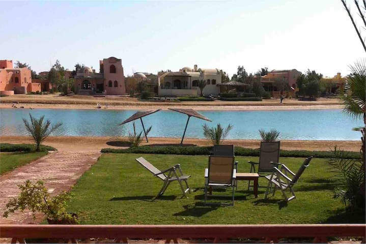 Nubian Villa in a prime location of El Gouna