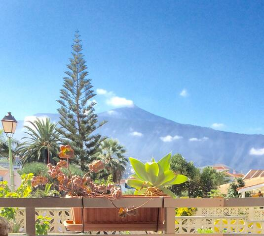 Cozy studio apt with wiew on Teide - Puerto de la Cruz - Loft