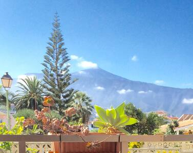 Cozy studio apt with wiew on Teide - Puerto de la Cruz