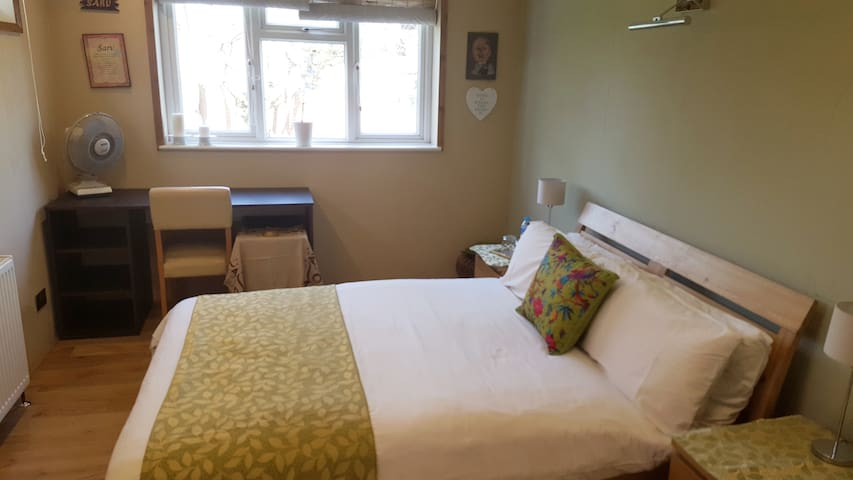 Private double bedroom in large family home - Lontoo - Talo