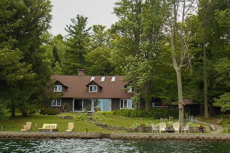 Chenango Lake Adirondack House - South New Berlin - Casa