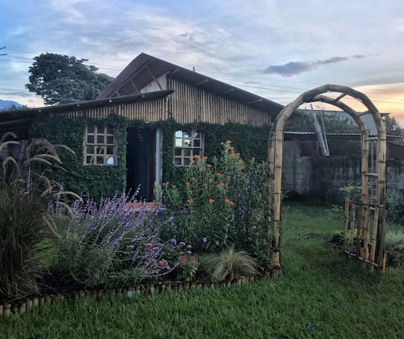 casita de bambu - San Antonio Suchitepéquez - Casa de campo