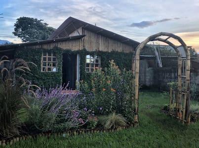 casita de bambu - San Antonio Suchitepéquez - Chalet