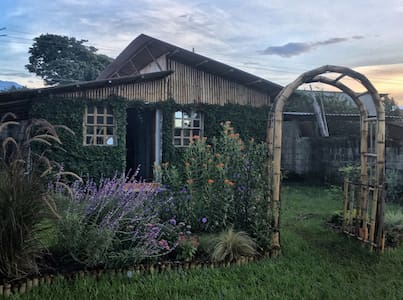 casita de bambu - San Antonio Suchitepéquez - Sommerhus/hytte