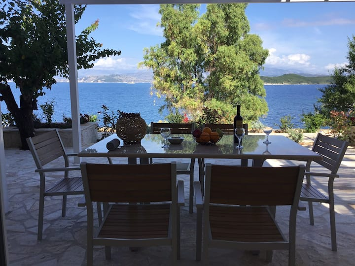 Corfu island KASSIOPI'S best sea view apartment