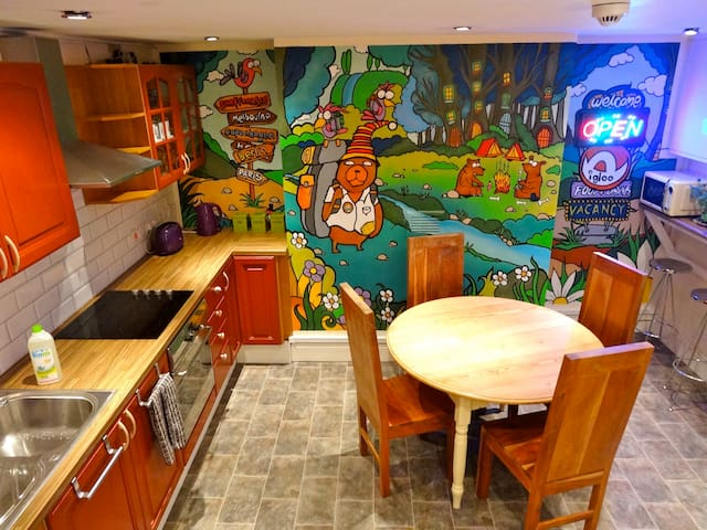 Igloo Backpackers Hostel - Family Room 3-4 people