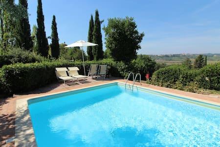 Ginevra Vacanze in Toscana- Terme, Golf e Arte - Castelfiorentino - 別墅
