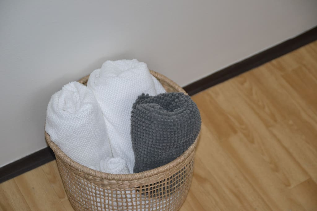 Towels are included in the rental.