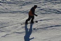 Snowboarding Mt Ruapehu