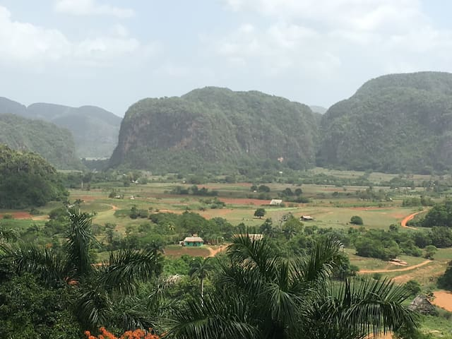 Viñales private guesthouse and free cave tour!