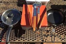 Grand Canyon Equipment Rental - tent, camp kitchen