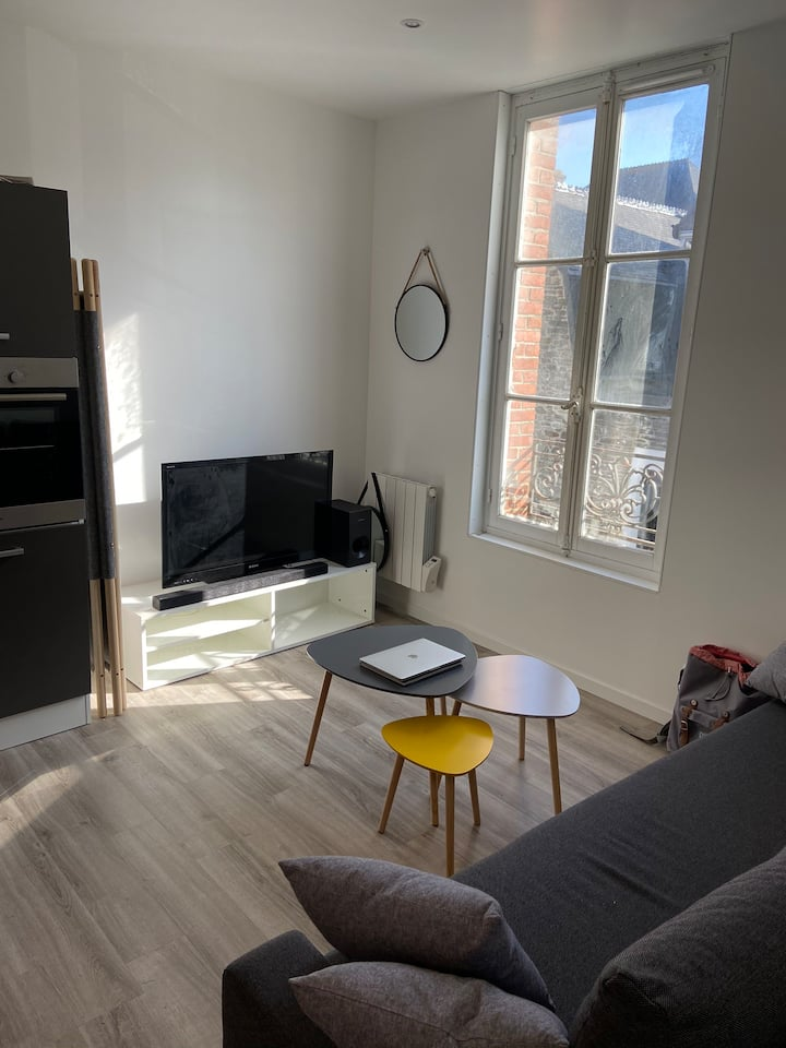 Appartement Cosy BC Bourg de Carteret 50m mer 🌞⛵️⛱