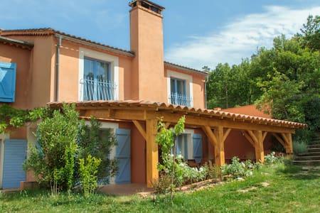 Gite du Romarin 4-9 pers Piscine chauffée - Châteauvert