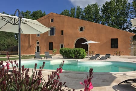 B&B with pool in center Luberon Park,double room1 - Reillanne