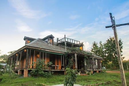Mon Sam Kien FarmStay - Casa