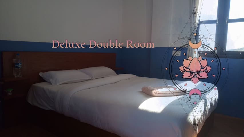 Deluxe Double Room in minimalistic hotel