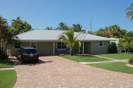 Nicely appointed pool house 1 mile to Beach - Hobe Sound - Huis