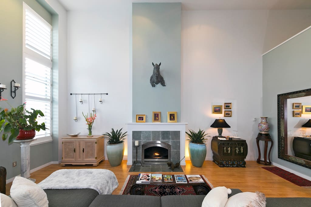 Living room, Fire Place
