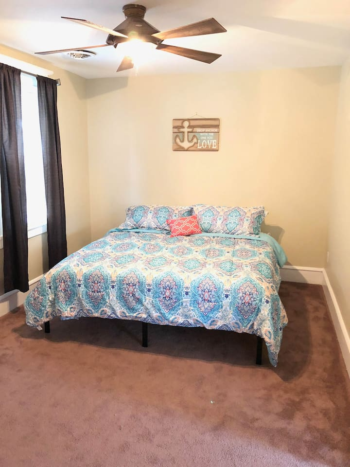 Bedroom #1 - King Bed