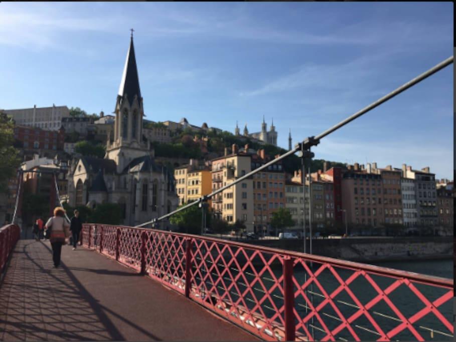 Vue depuis le pont Saint-Georges