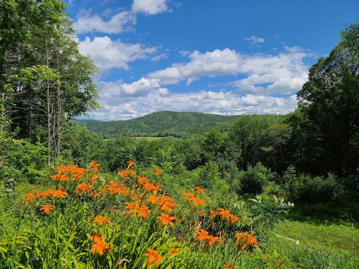 Temple Hill Retreat in VT. Your private getaway.
