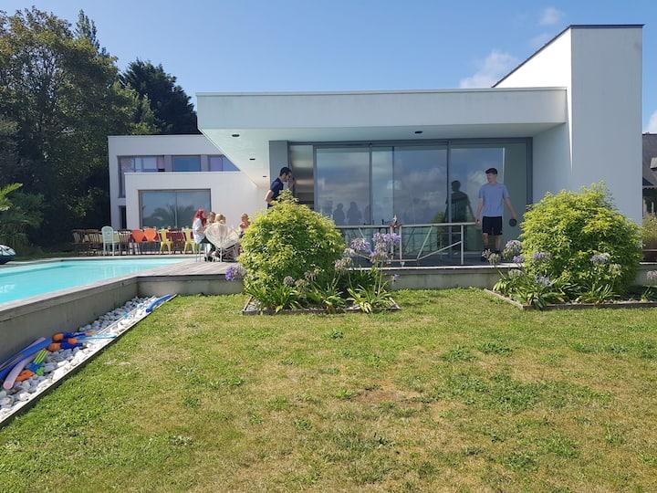 Maison d'architecte à Carteret