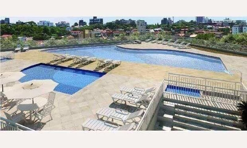 New apartment with amenities Santos