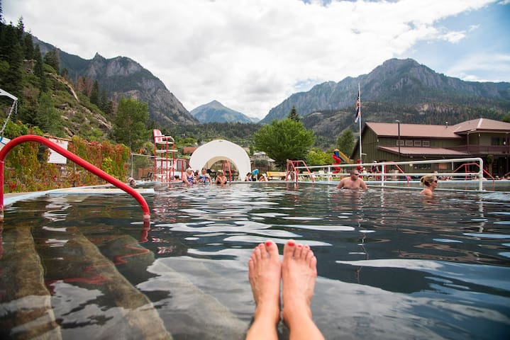 Special Rates! Soak in Hot Springs & Mountain Air