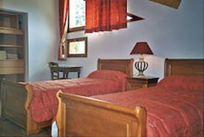 Le SIVAROL: chambre OURSON - Ignaux - Villa
