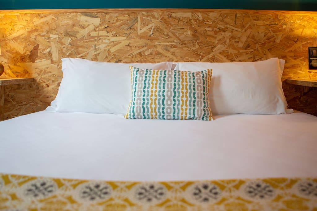 Un grand lit en 180 ou 2 x 90 selon vos envies !