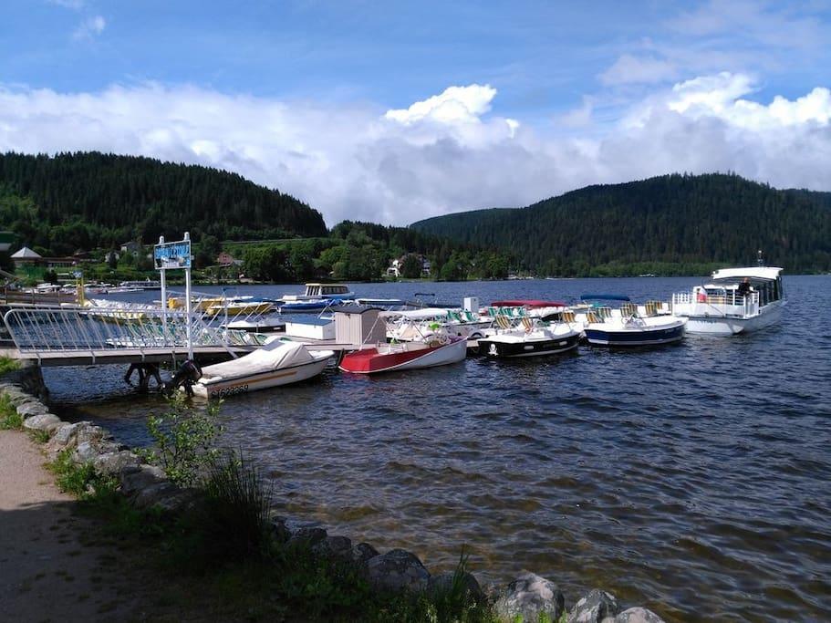 Embarcadaire Lac de Gérardmer