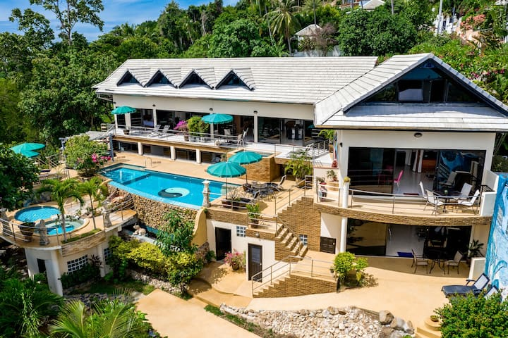 ROYAL ORCHID +Pool&Jacuzzi-Panoramic SeaView