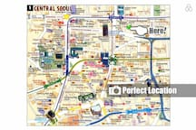 Every Giude Book Says : Here is central of Seoul! Basecamp located middle of downtown.