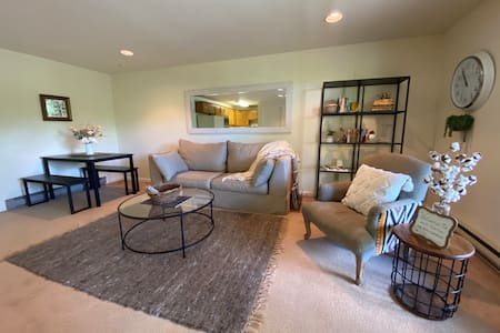 Basement Apt 2 miles to Downtown Boone w/ Hot Tub
