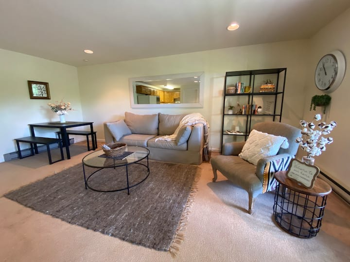 Private Basement Apt 2 miles to Downtown Boone