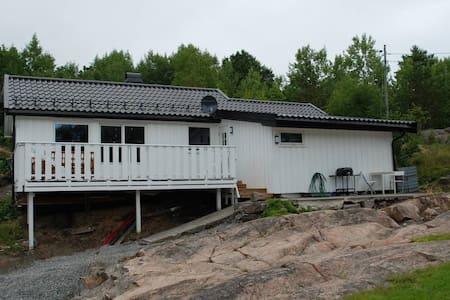 Nyoppusset hytte i Kilsund